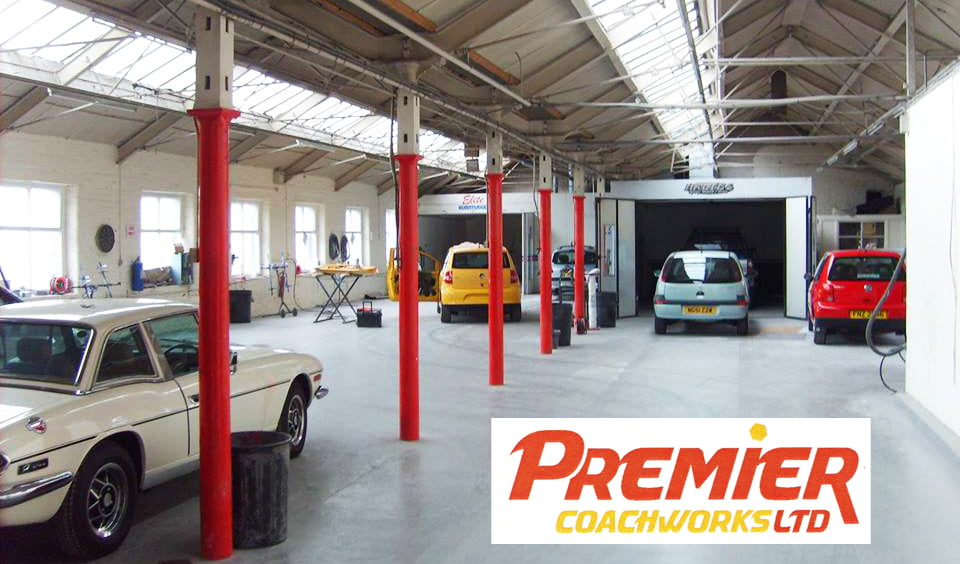 Premier Coachworks accident repair centre
